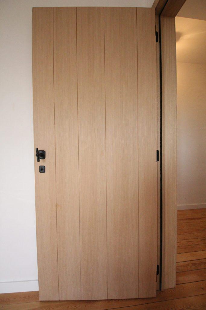 Afwerking deur